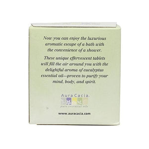 Aura Cacia Eucalyptus Shower Tablets 3 oz 188266 OC