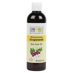 Aura Cacia Grapeseed Skin Care Oil 16 fl oz 191174 OC