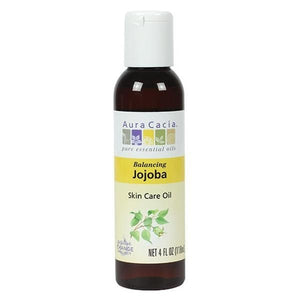 Aura Cacia Jojoba Skin Care Oil 4 fl oz 191172 OC