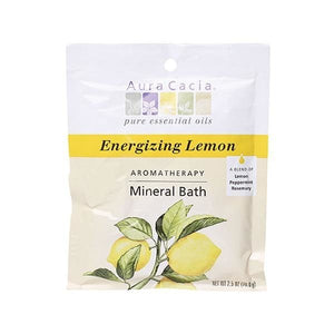 Aura Cacia Lemon Mineral Bath 2.5 oz 188516 OC