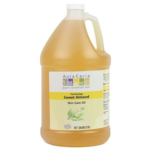 Aura Cacia Sweet Almond Skin Care Oil 1 gallon 191176 OC