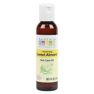 Aura Cacia Sweet Almond Skin Care Oil 4 fl oz 191144 OC