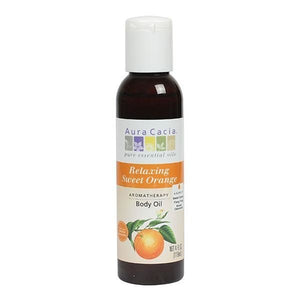 Aura Cacia Sweet Orange Body Oil 4 fl oz 188602 OC