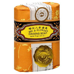Bee & Flower Soaps Ginseng Bar Soap 2.65 oz 5047 OC - NutritionalInstitute.com