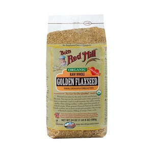 Bob's Red Mill Organic Golden Flaxseed Meal 16 oz.bag 233076 OC