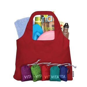 ChicoBag Red Vita Reusable Shopping Bag OC