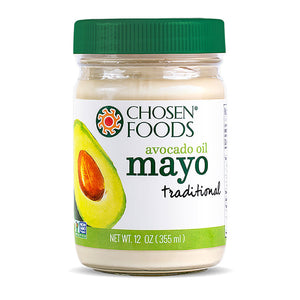 Chosen Foods Chosen Foods Traditional Avocado Oil Mayo 12 fl oz 233902 OC