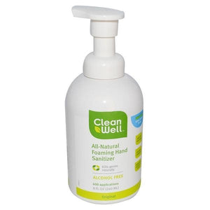 CleanWell CleanWell Original Scent Foaming Hand Sanitizer 8 fl oz 225959 OC