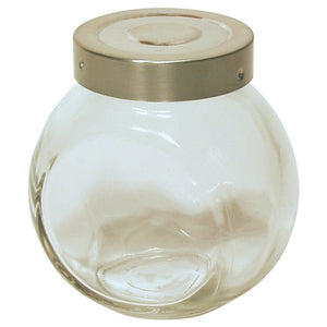 Culinary Accessories Glass Ball Spice Bottle 6 oz 215169 OC