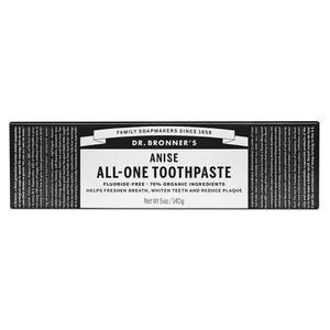 Dr. Bronner's Magic Soaps Dr. Bronner's Anise Toothpaste 5 oz 229399 OC