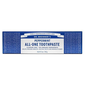 Dr. Bronner's Magic Soaps Dr. Bronner's Peppermint Toothpaste 5 oz 229401 OC