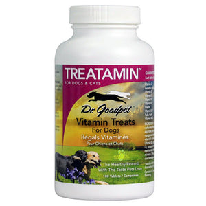 Dr. Goodpet Dr. Goodpet Treatamin Multivitamin 180 tablets 208167 OC
