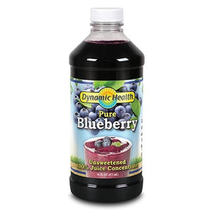 Dynamic Health Blueberry Juice Concentrate Plastic 16fl.oz.234054 OC