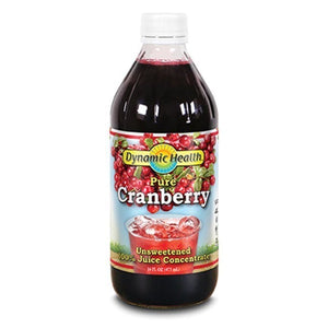 Dynamic Health Cranberry Juice Concentrate Glass 16fl.oz.234058 OC
