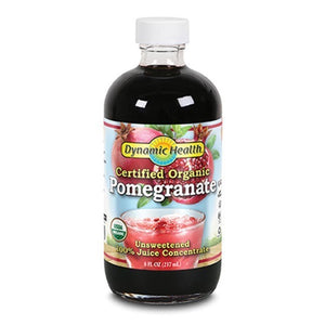 Dynamic Health Organic Pomegranate Juice Concentrate Glass 8fl.oz.234069 OC