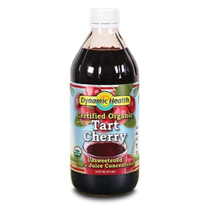 Dynamic Health Organic Tart Cherry Juice Concentrate Glass 16fl.oz.234074 OC