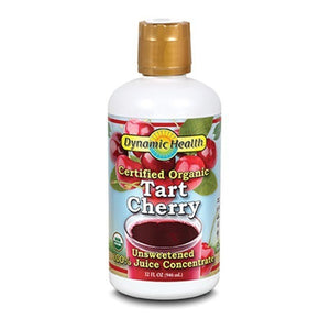 Dynamic Health Organic Tart Cherry Juice Concentrate Plastic 32fl.oz.234076 OC