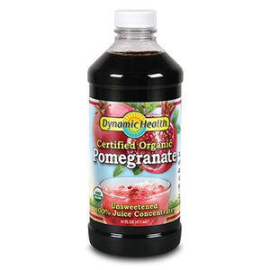 Dynamic Health Pomegranate Juice Concentrate Plastic 16 fl oz 234070 OC