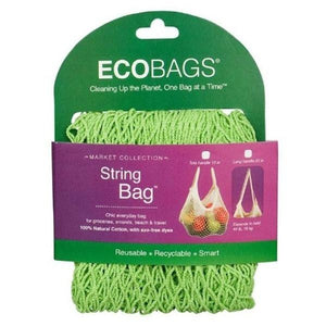 ECOBAGS Lime Tote Handle String Bag 226582 OC