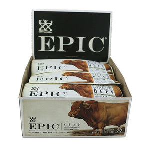 Epic Epic Beef Bacon Apple Protein Bars 12 1.5 oz. 232163 OC - NutritionalInstitute.com