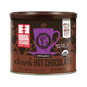 Equal Exchange Equal Exchange Organic Dark Hot Chocolate Cocoa 12 oz.229998 OC - NutritionalInstitute.com