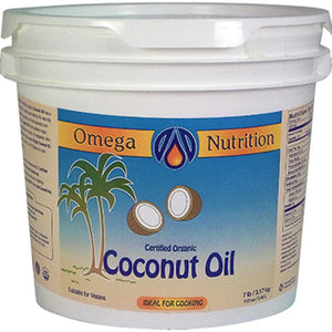 Omega Nutrition Coconut Oil 112 oz COCCB112 ASD ME