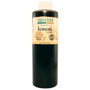 Frontier Co-op Lemon Flavor 16 fl oz 23073 OC