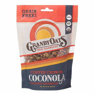 Grandy Oats Grandy Oats Coffee Crunch Grain Free Coconola 9 oz bag OC