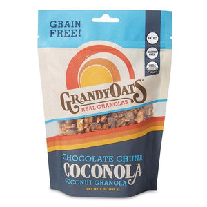 Grandy Oats Grandy Oats Grain-Free Chocolate Chunk Coconola 9oz bag OC