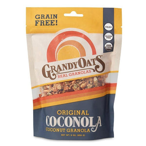 Grandy Oats Grandy Oats Original Grain Free Coconola 9 oz bag 233970 OC