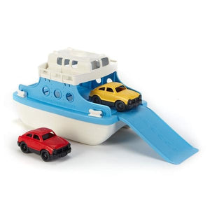 Green Toys Bath & Water Play Ferry Boat OC
