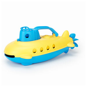 Green Toys Green Toys Bath & Water Play Blue Submarine for 6+ months OC - NutritionalInstitute.com
