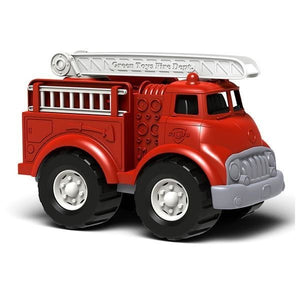 "Green Toys Vehicles Fire Truck, Red 10 1/2"" x 6 1/4"" x 7 1/2"" OC - NutritionalInstitute.com"