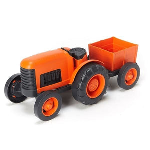 Green Toys Vehicles Tractor, Orange OC - NutritionalInstitute.com