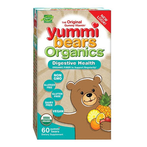Hero Nutritional Products Yummy Bears Org Digestive Health 60 Count OC