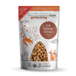 Karmalize.Me Organic Peeled Tiger Nuts 6 oz 232515 OC