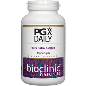 Bioclinic Naturals PGX Daily Ultra Matrix Softgels 180 gels 9200 - NutritionalInstitute.com