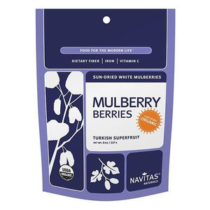 Navitas Organics Dried Mulberries 8 oz 231127 OC