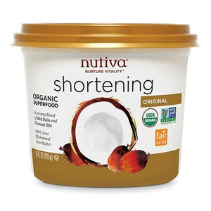 Nutiva Organic Red Palm Oil Shortening 15 fl oz 230251 OC