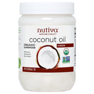 Nutiva Virgin Coconut Oil 29 oz 218566 OC