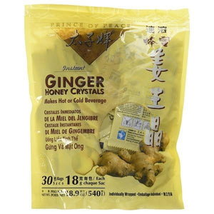 Prince of Peace Ginger Honey Crystals 30 packets 226986 OC