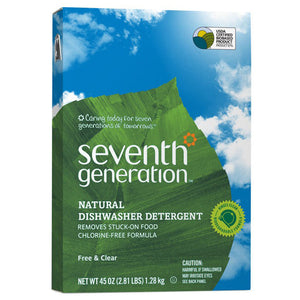 Seventh Generation Free Clear Automatic Dishwasher Powder 45 oz.209950 OC