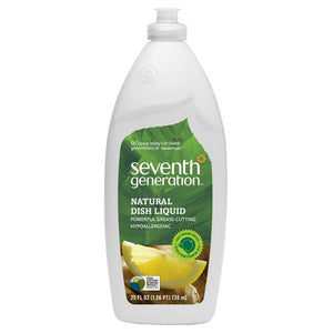Seventh Generation Fresh Citrus Ginger Dish Liquid 25fl.oz.224193 OC