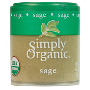 Simply Organic Simply Organic Sage Leaf Ground 0.21 oz 50065 OC