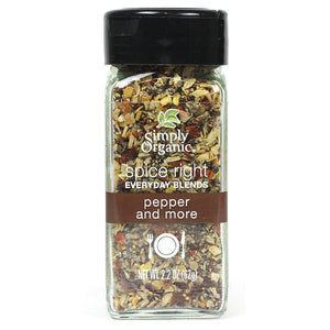 Simply Organic Simply Organic Spice Right Pepper and More 2.2 oz 15741 OC