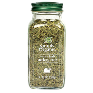 Simply Organic Simply Organic Turkey Rub 2.43 oz 15705 OC