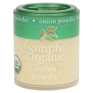 Simply Organic Simply Organic, Onion, White Powder Organic 0.74 oz 50046 OC