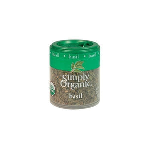 Simply Organic Sweet Basil Leaf 0.18 oz OC