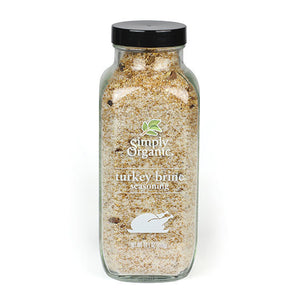 Simply Organic Turkey Brine Seasoning 14.1 oz 18504 OC