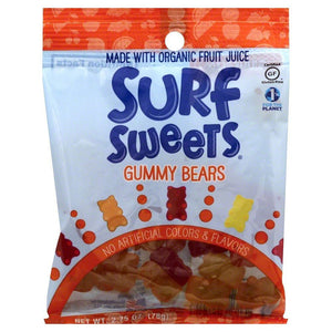Surf Sweets Surf Sweets Gummy Bears 2.75 oz 227477 OC